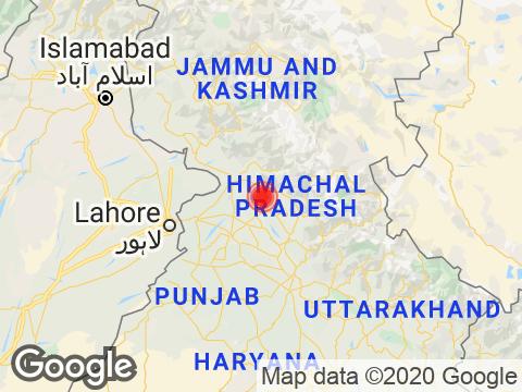 Himachal Pradesh में Dharamshala के निकट रिक्टर पैमाने पर 2.3 तीव्रता वाले भूकंप के झटके