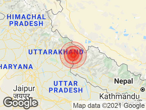 Magnitude 4.0 Intensity Earthquake Strikes Uttarakhand's Pithoragarh