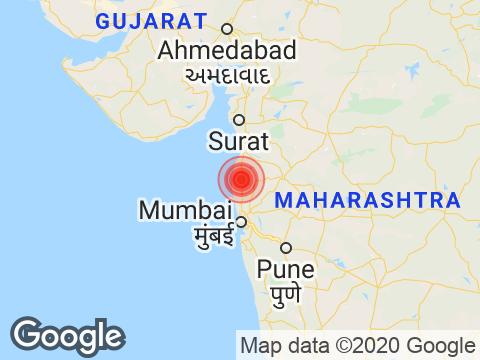 Maharashtra में Nashik के निकट रिक्टर पैमाने पर 3.2 तीव्रता वाले भूकंप के झटके