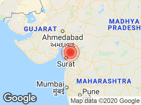 4.2 Earthquake Strikes Near Surat In Gujarat