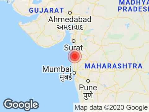 Maharashtra में Nashik के निकट रिक्टर पैमाने पर 3.1 तीव्रता वाले भूकंप के झटके