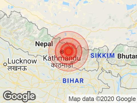 नेपाल: काठमांडू में महसूस किए गए भूकंप के तेज़ झटके, रिक्टर स्केल पर तीव्रता 5.3