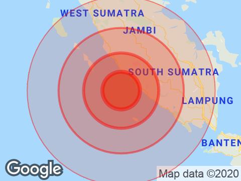 Earthquake With Magnitude 6.9 Strikes Near Jakarta, Indonesia