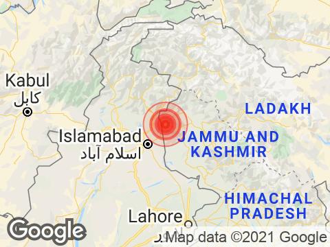 Magnitude 3.5 Earthquake Hits Jammu And Kashmir's Gulmarg