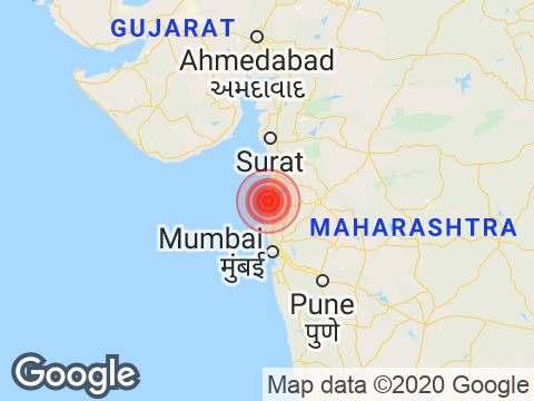 Earthquake in Maharashtra with Magnitude 3.5 Strikes Near Mumbai