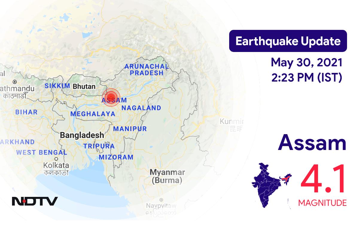 Earthquake Of Magnitude 4.1 Hits Assam