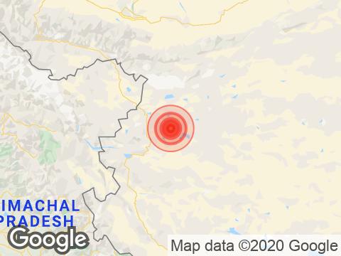 4.1 Earthquake Strikes Near Jammu And Kashmir's Hanley