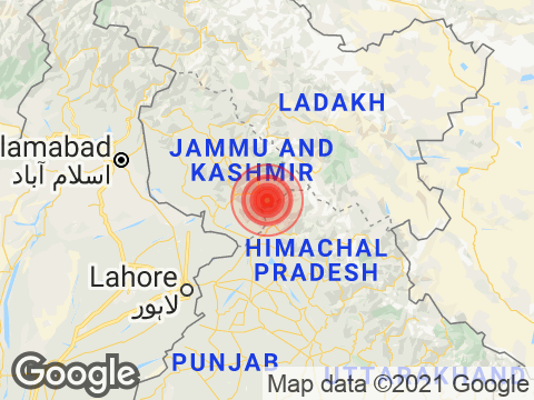 Earthquake Of Magnitude 4.1 Hits Near Katra In Jammu And Kashmir