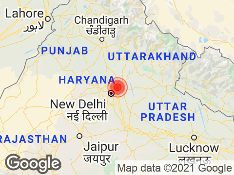 Uttar Pradesh में Noida के निकट रिक्टर पैमाने पर 2.9 तीव्रता वाले भूकंप के झटके