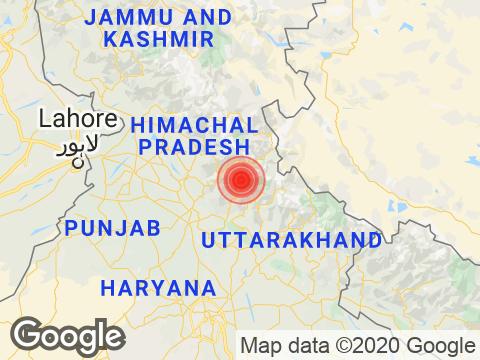Uttarakhand में Uttarkashi के निकट रिक्टर पैमाने पर 3.1 तीव्रता वाले भूकंप के झटके