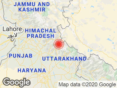 Uttarakhand में Uttarkashi के निकट रिक्टर पैमाने पर 2.9 तीव्रता वाले भूकंप के झटके