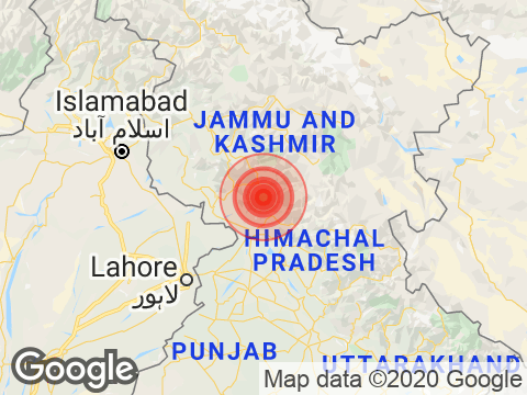 4.4 Magnitude Earthquake Strikes Jammu and Kashmir's Gandoh