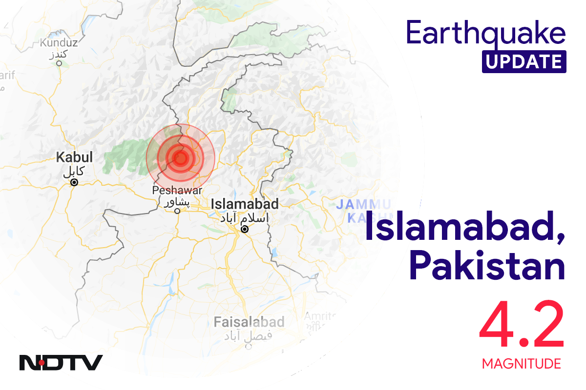 4.2 Earthquake Magnitude Strikes Near Islamabad In Pakistan