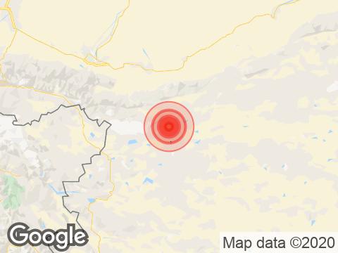 Earthquake in Jammu & Kashmir with Magnitude 4.2 Strikes Near Hanley