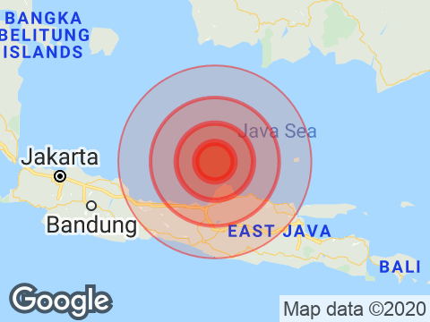 Earthquake With Magnitude 6.1 Strikes Near Indonesia's Jakarta