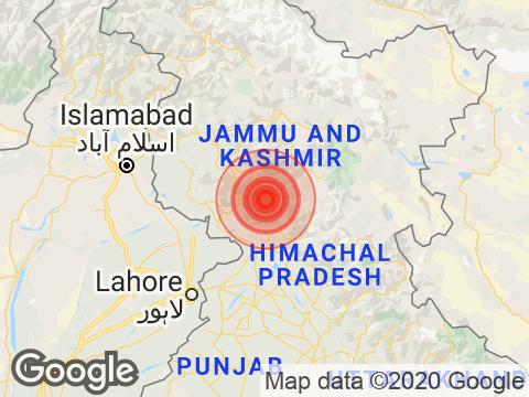 Magnitude 4.0 Earthquake Hits Jammu And Kashmir's Thathri