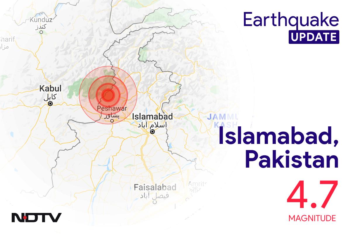 4.7 Magnitude Earthquake Strikes Near Islamabad In Pakistan