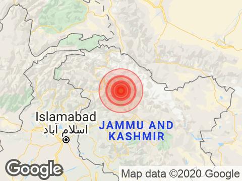 4.5 Magnitude Earthquake Hits Kargil In Ladakh