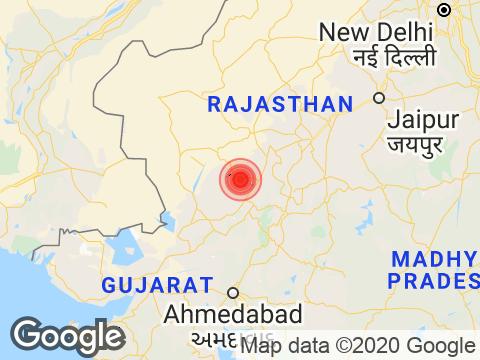 Rajasthan में Jodhpur के निकट रिक्टर पैमाने पर 3.0 तीव्रता वाले भूकंप के झटके