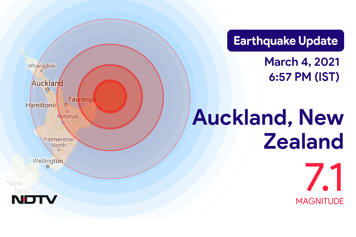 Earthquakes strike New Zealand's Kermadec Islands; tsunami warnings lifted across South Pacific islands