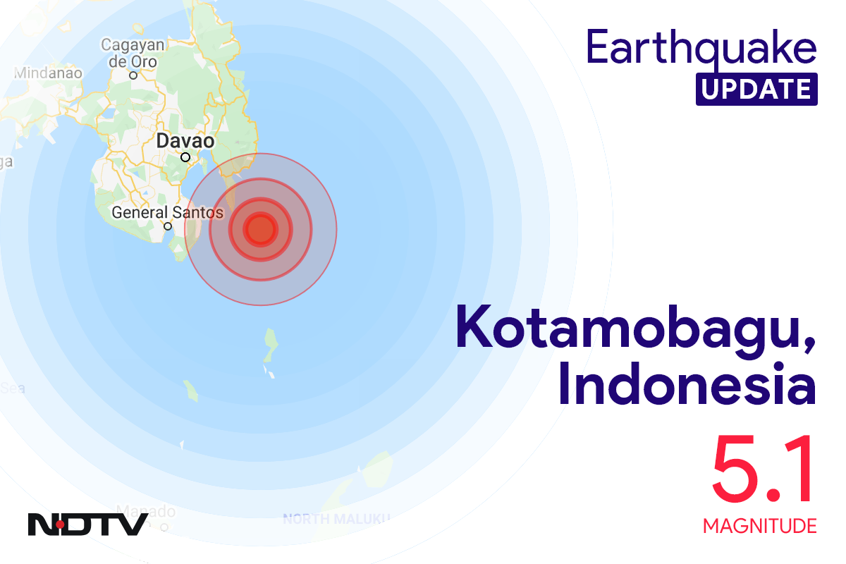 5.1 Earthquake Strikes Indonesia's Sulawesi