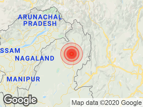4.4 Magnitude Earthquake Strikes Arunachal Pradesh's Changlang