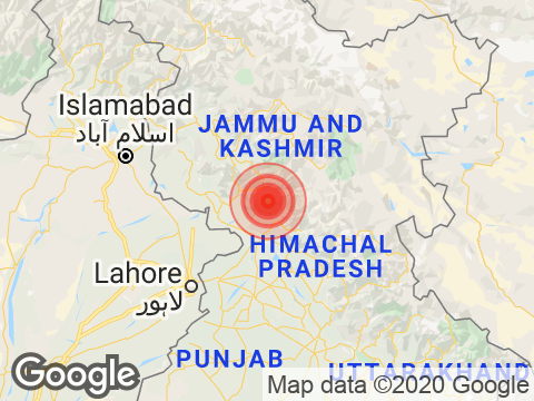 3.6 Magnitude Earthquake Hits Jammu And Kashmir In Gandoh