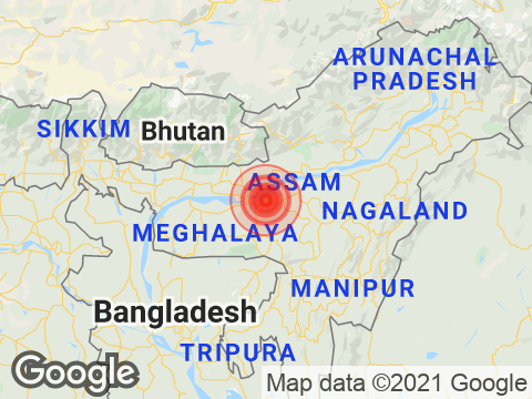 Magnitude 3.6 Earthquake Hits Assam
