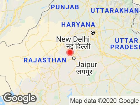 Rajasthan में Jaipur के निकट रिक्टर पैमाने पर 2.2 तीव्रता वाले भूकंप के झटके