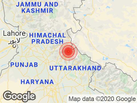 Uttarakhand में Uttarkashi के निकट रिक्टर पैमाने पर 3.5 तीव्रता वाले भूकंप के झटके