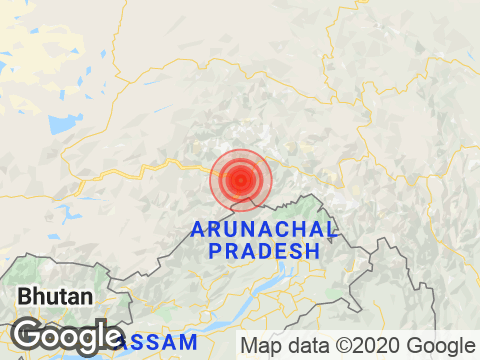 Magnitude 4.1 Earthquake Strikes Arunachal Pradesh's Pangin