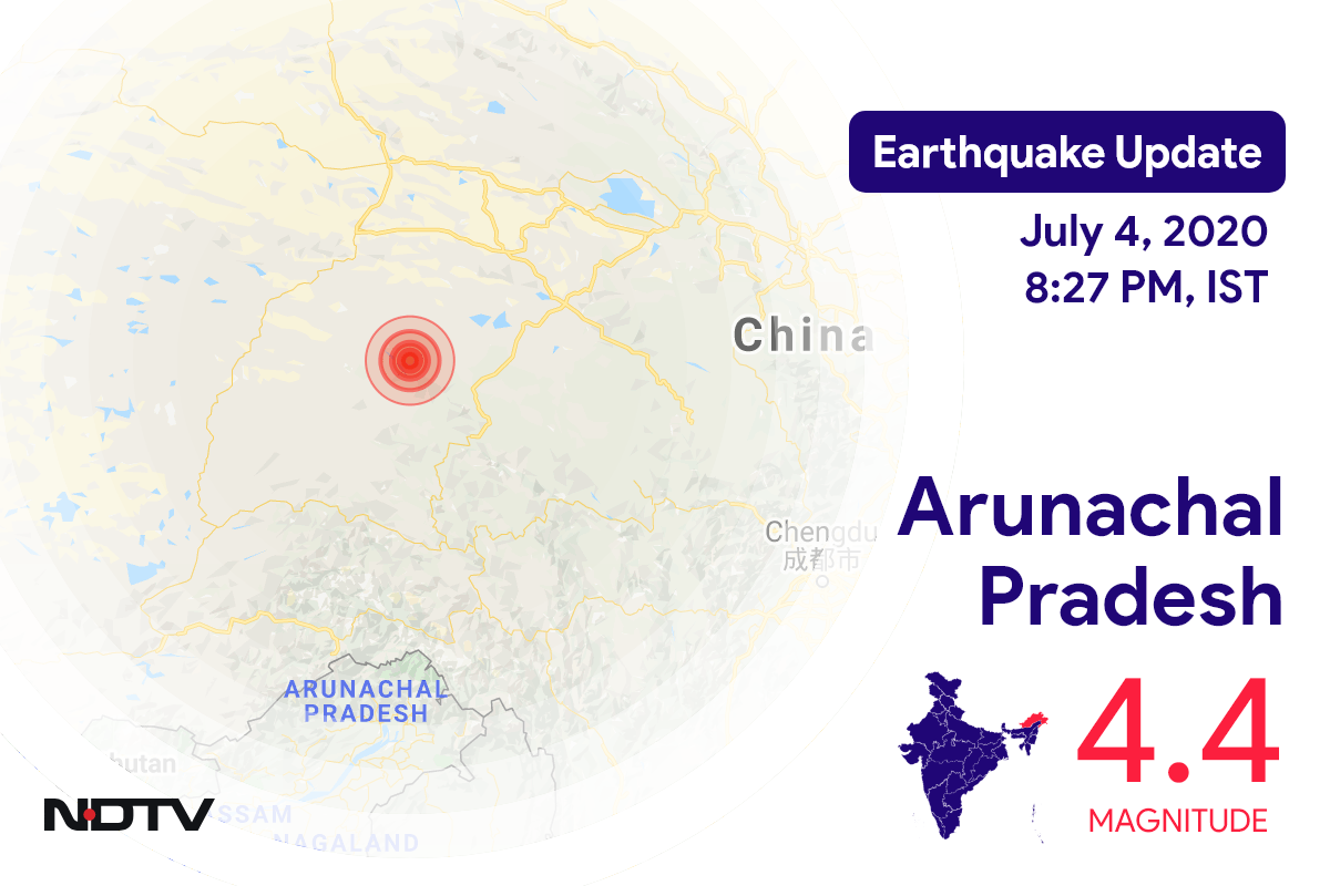 4.4 Earthquake Strikes Arunachal Pradesh
