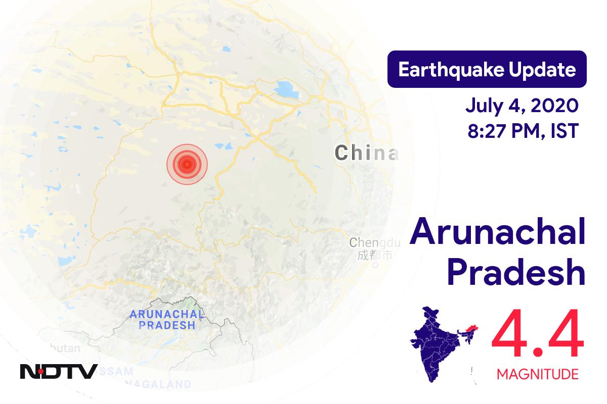 4.4 Earthquake Strikes Arunachal Pradesh
