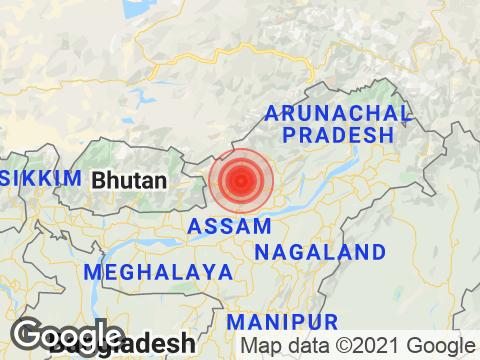 Earthquake in Arunachal Pradesh With Magnitude 3.6 Strikes Near Itanagar