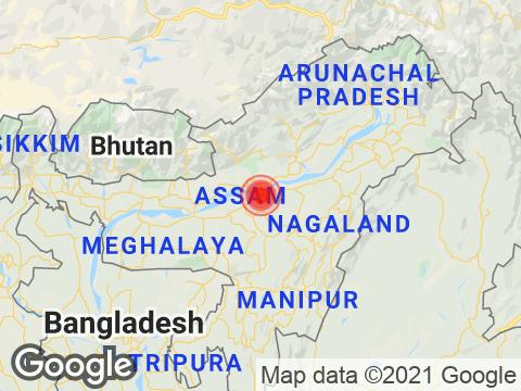 असम में तेजपुर के निकट रिक्टर पैमाने पर 2.8 तीव्रता वाले भूकंप के झटके