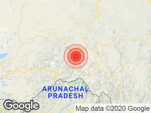 Earthquake in Arunachal Pradesh with Magnitude 3.8 Strikes Near Pangin