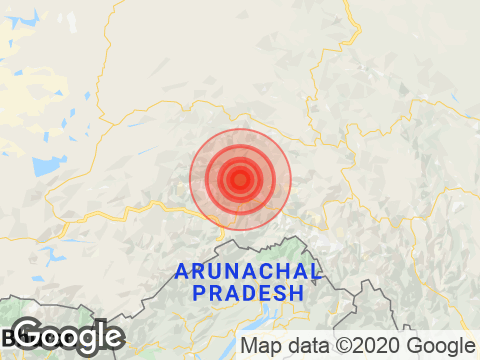 Earthquake in Arunachal Pradesh With Magnitude 4.8 Strikes Near Pangin