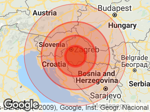 Earthquake With Magnitude 6.2 Strikes Near Zagreb, Croatia