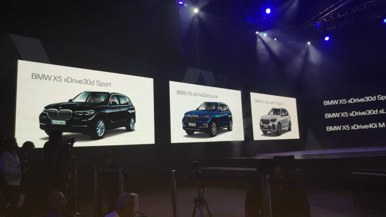 2019 BMW X5 India Launch Live Updates: Prices