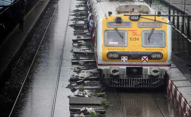 Mumbai Rains Highlights: Local Train Services On Western
