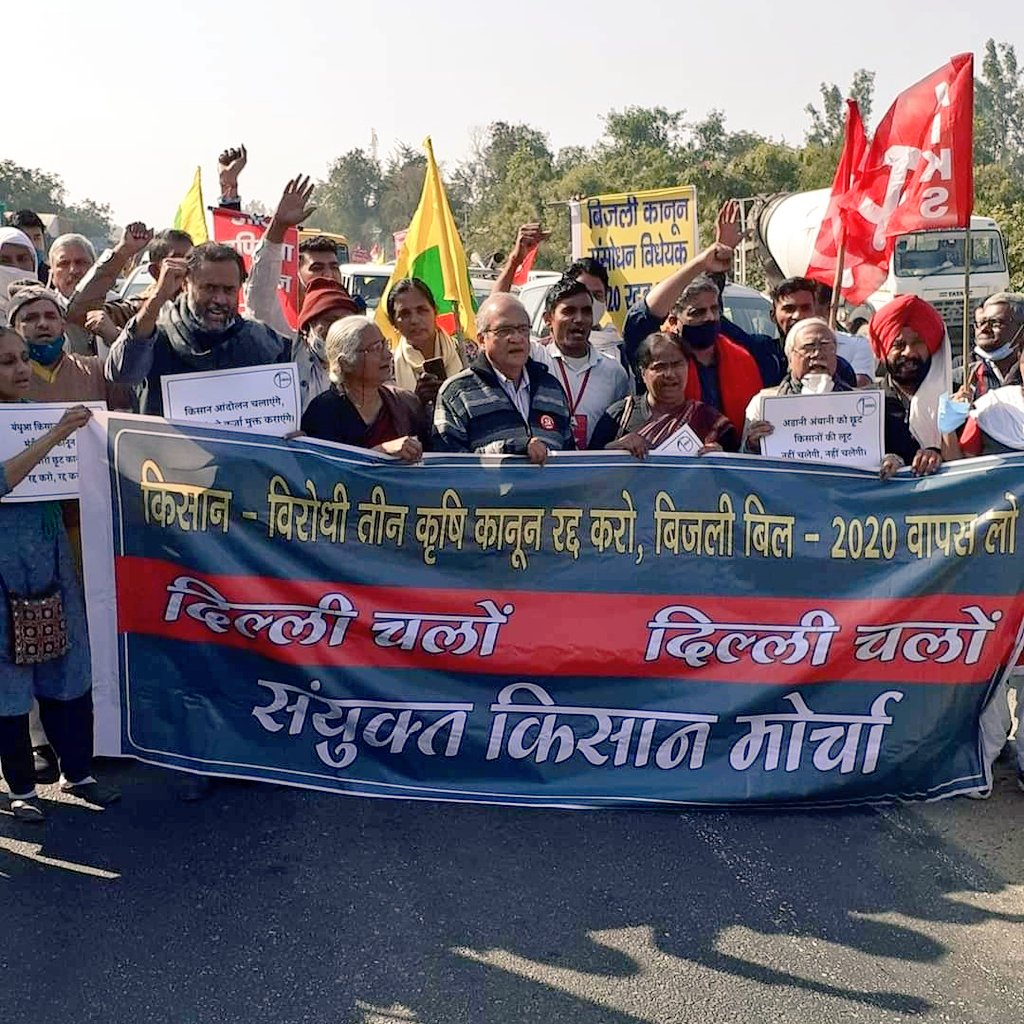 Farmer Leaders To Go On Hunger Strike From 8  AM To 5 PM Tomorrow