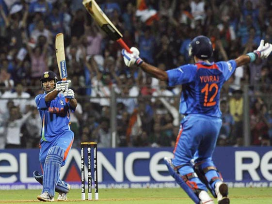 Watch: Dhoni Takes Us Back To 2011 World Cup Winning Six