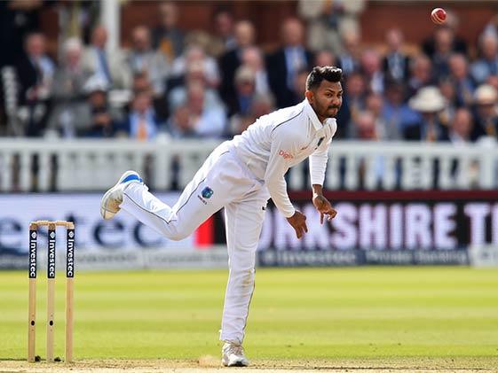 1st Test: Bishoo's 5-Wicket Haul Puts WI In Control vs Zimbabwe
