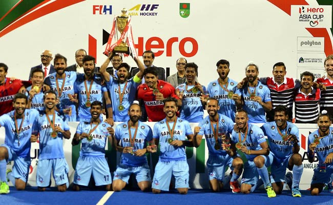 Asia Cup Hockey: India Outclass Malaysia 2-1 In Final To Clinch Title
