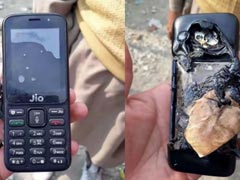 Jio Phone Allegedly Explodes. Here's What Reliance Has to Say