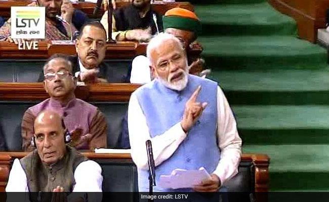 संसद में पीएम मोदी का राहुल पर तंज: पहली बार मुझे पता चला कि 'गले लगना' और 'गले पड़ना' में क्या अंतर होता है