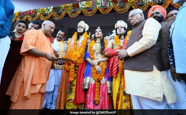 1.75 Lakh Diya, Ram-Sita In Chopper For Yogi Adityanath's Ayodhya Diwali