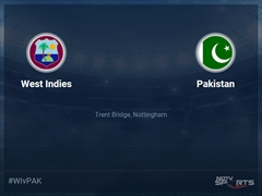 Pakistan vs West Indies Live Score, Over 11 to 15 Latest Cricket Score, Updates