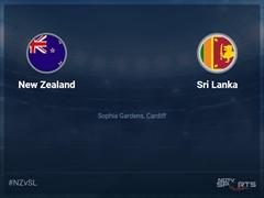 New Zealand vs Sri Lanka Live Score, Over 16 to 20 Latest Cricket Score, Updates