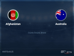 Afghanistan vs Australia Live Score, Over 31 to 35 Latest Cricket Score, Updates